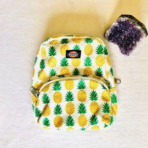 Dickies Pineapple Canvas Mini Backpack